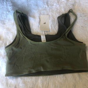 Fabletics 2 layer sports bra